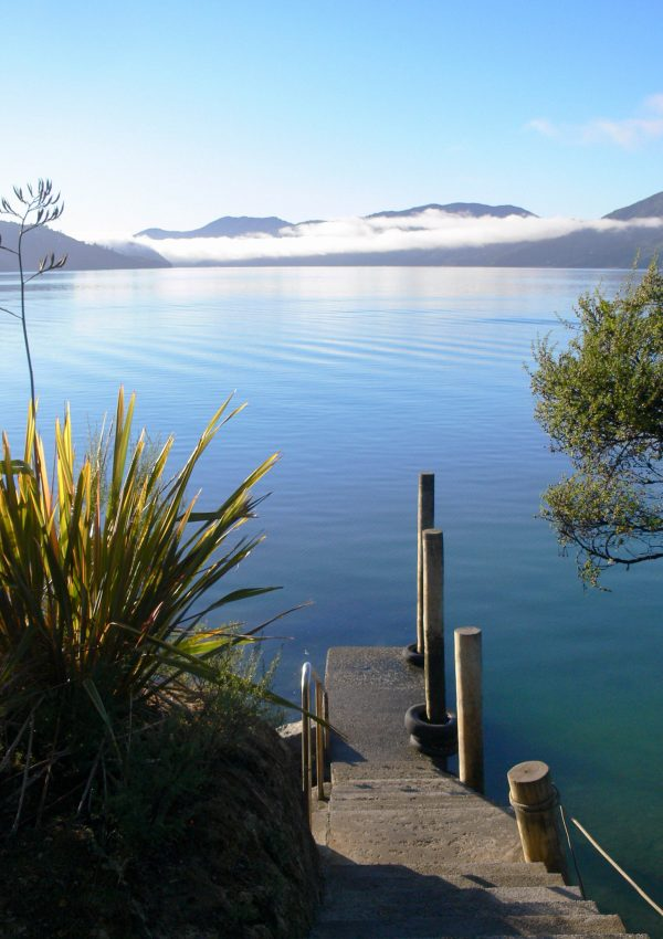 Hopewell Lodge in the Marlborough Sounds