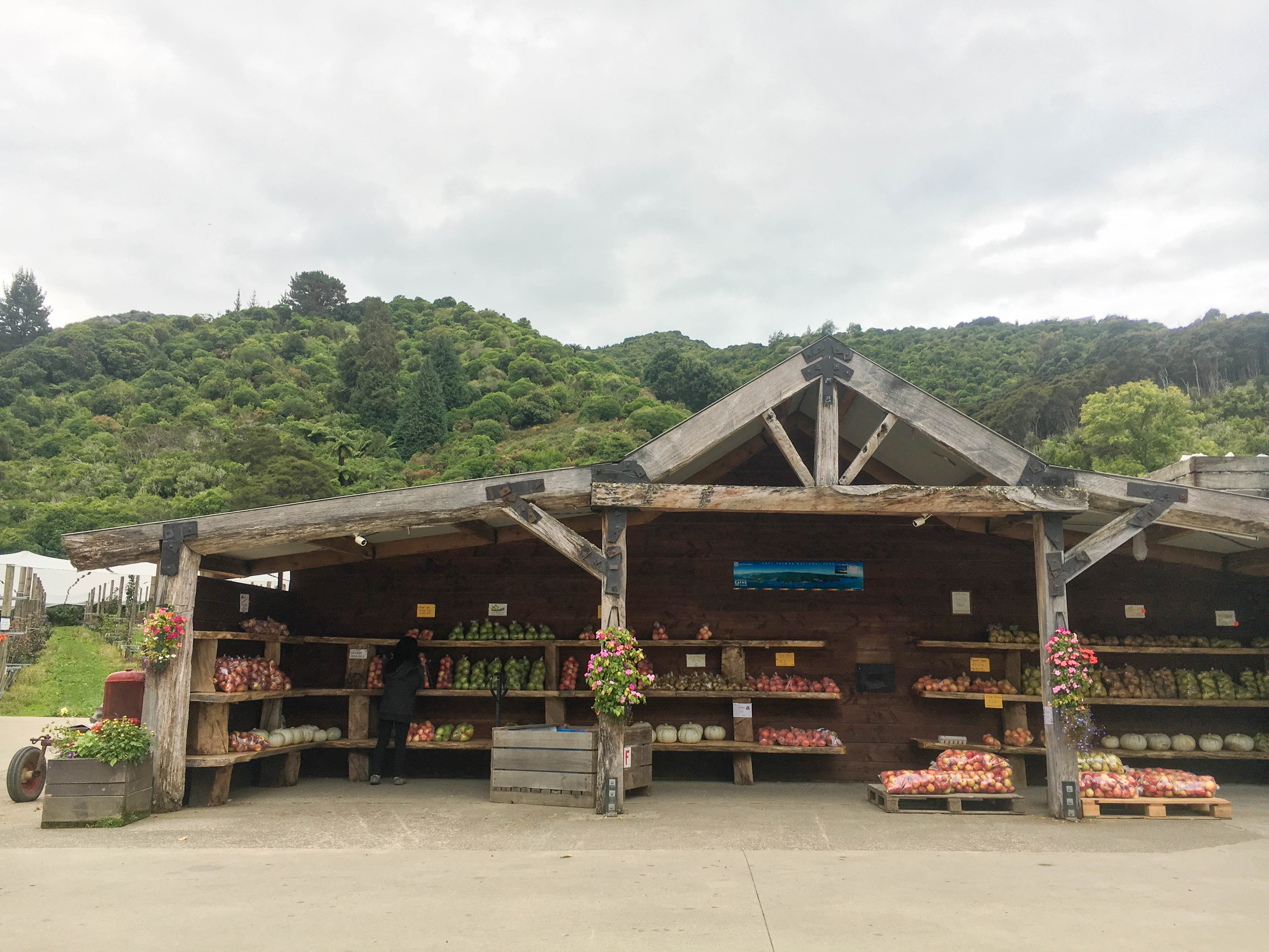 Golden Bay Produce Stand