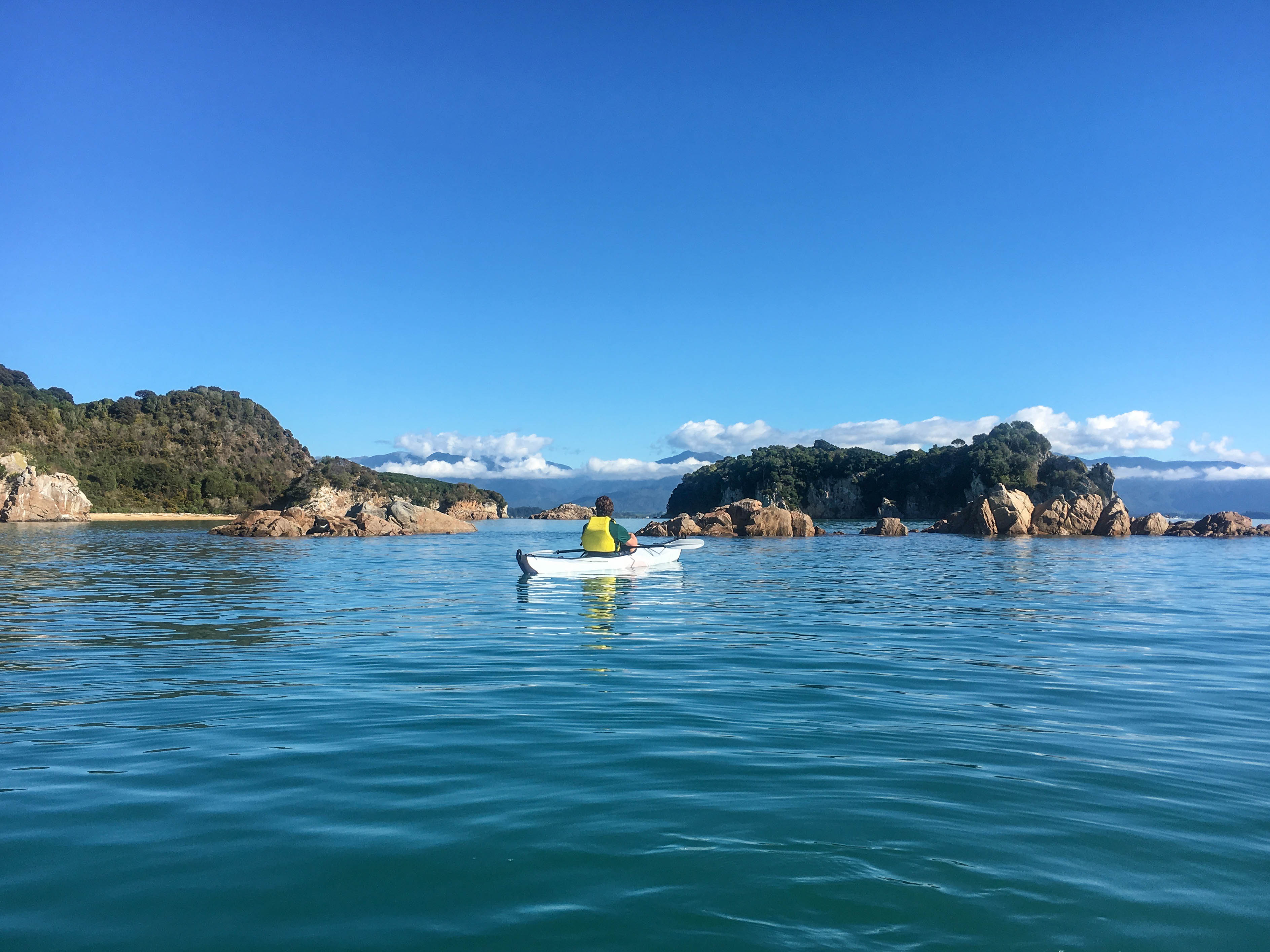 Oru Kayak at Tata Beach in Abel Tasman