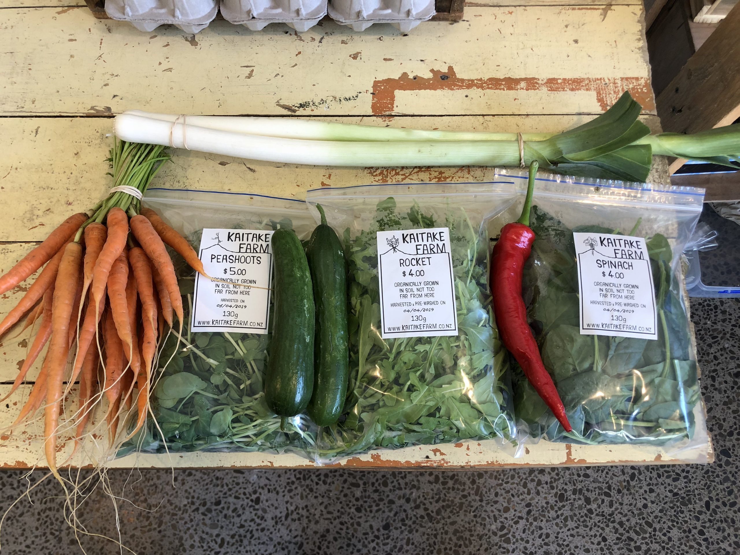 Kaitake Farm Stand in New Plymouth