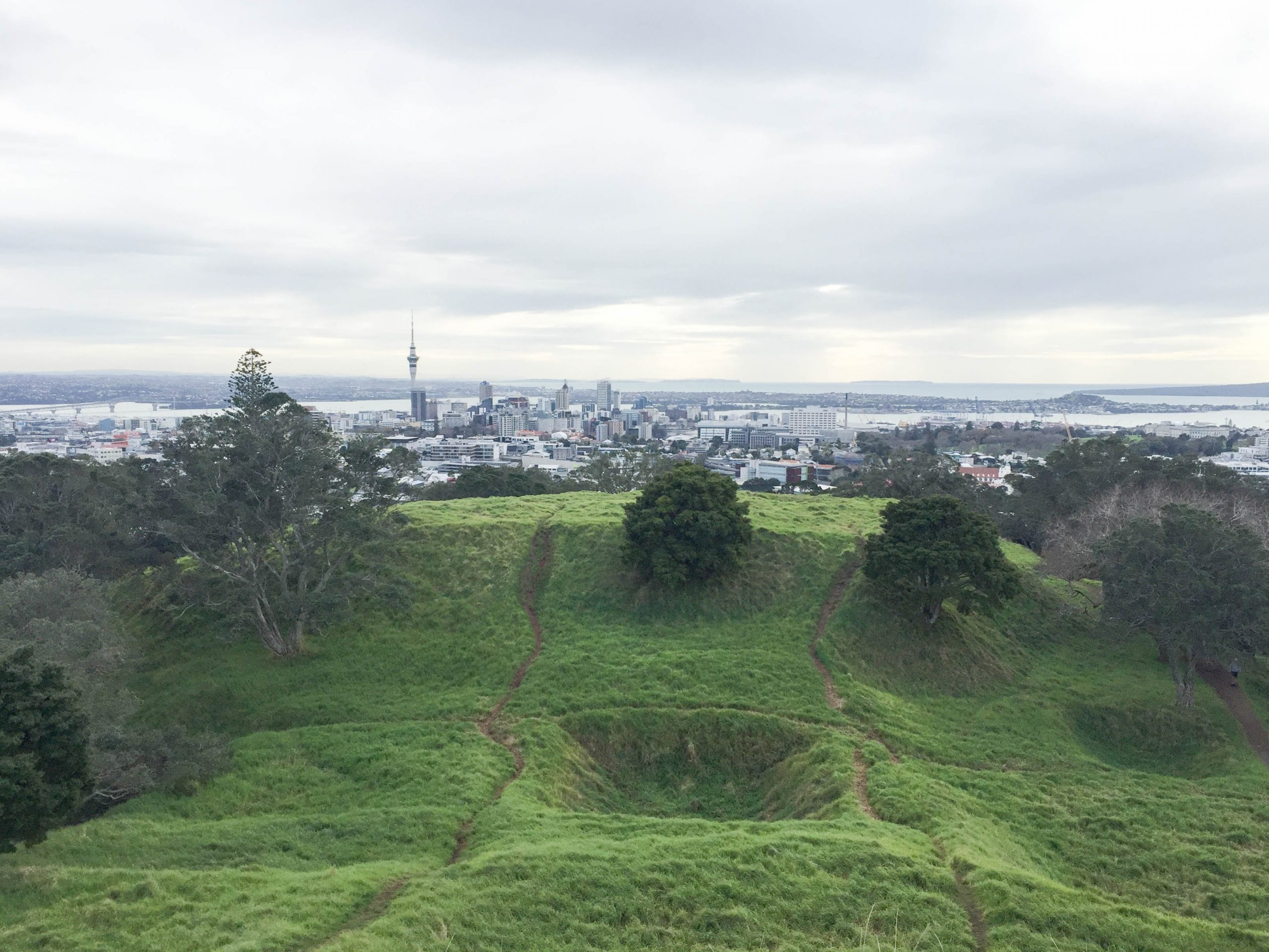 Mount Eden views over Auckland