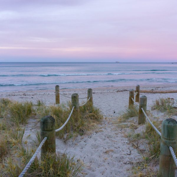 Mount Maunganui beach sunset