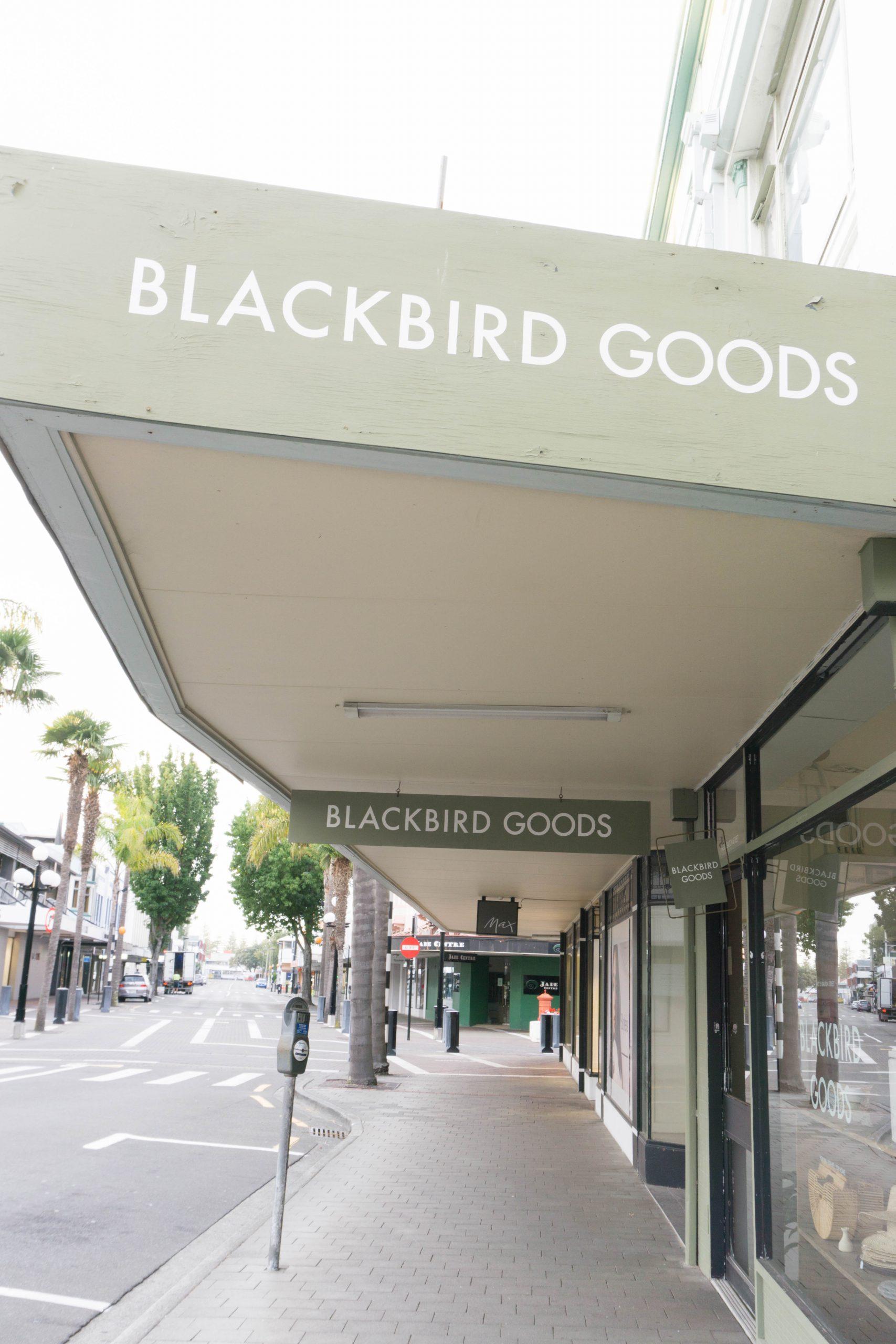 Blackbird Goods in Napier