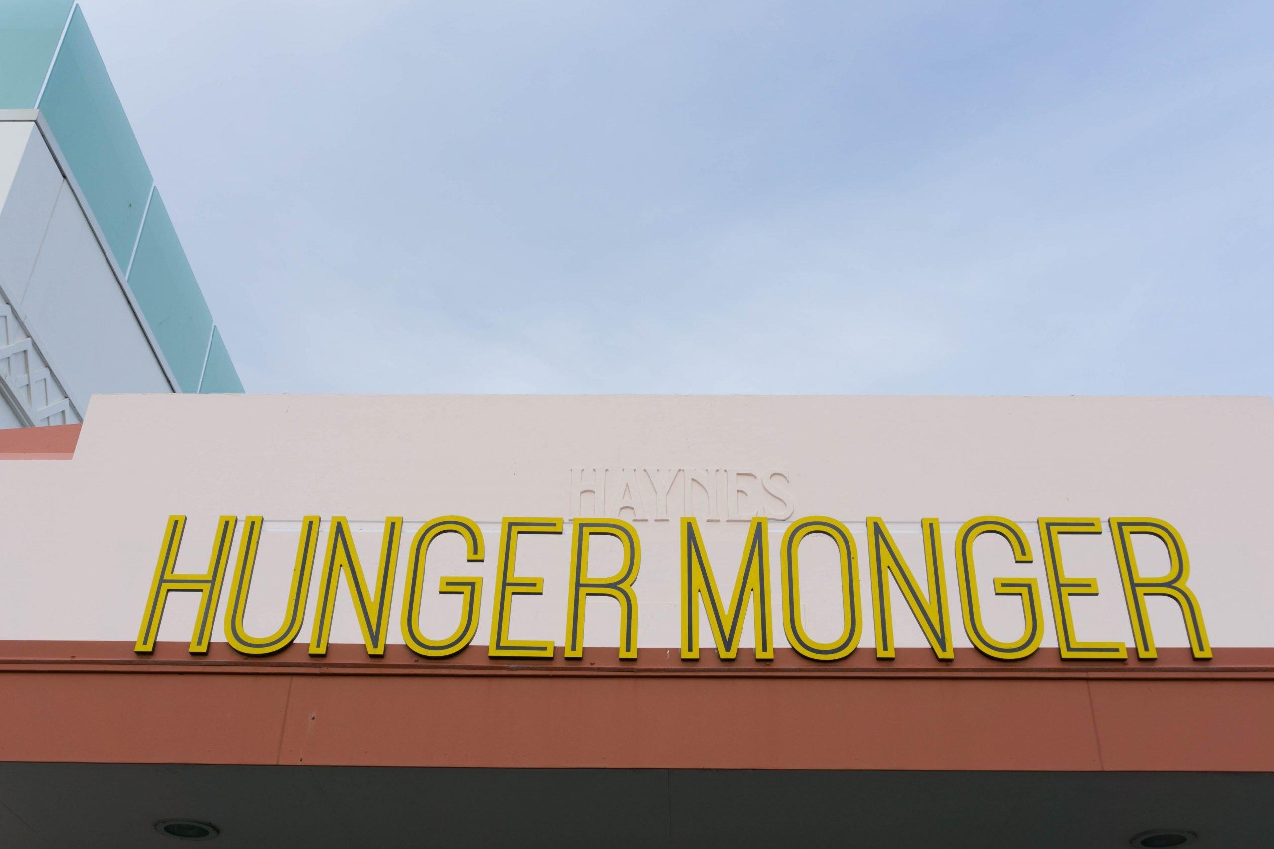 Hunger Monger in Napier