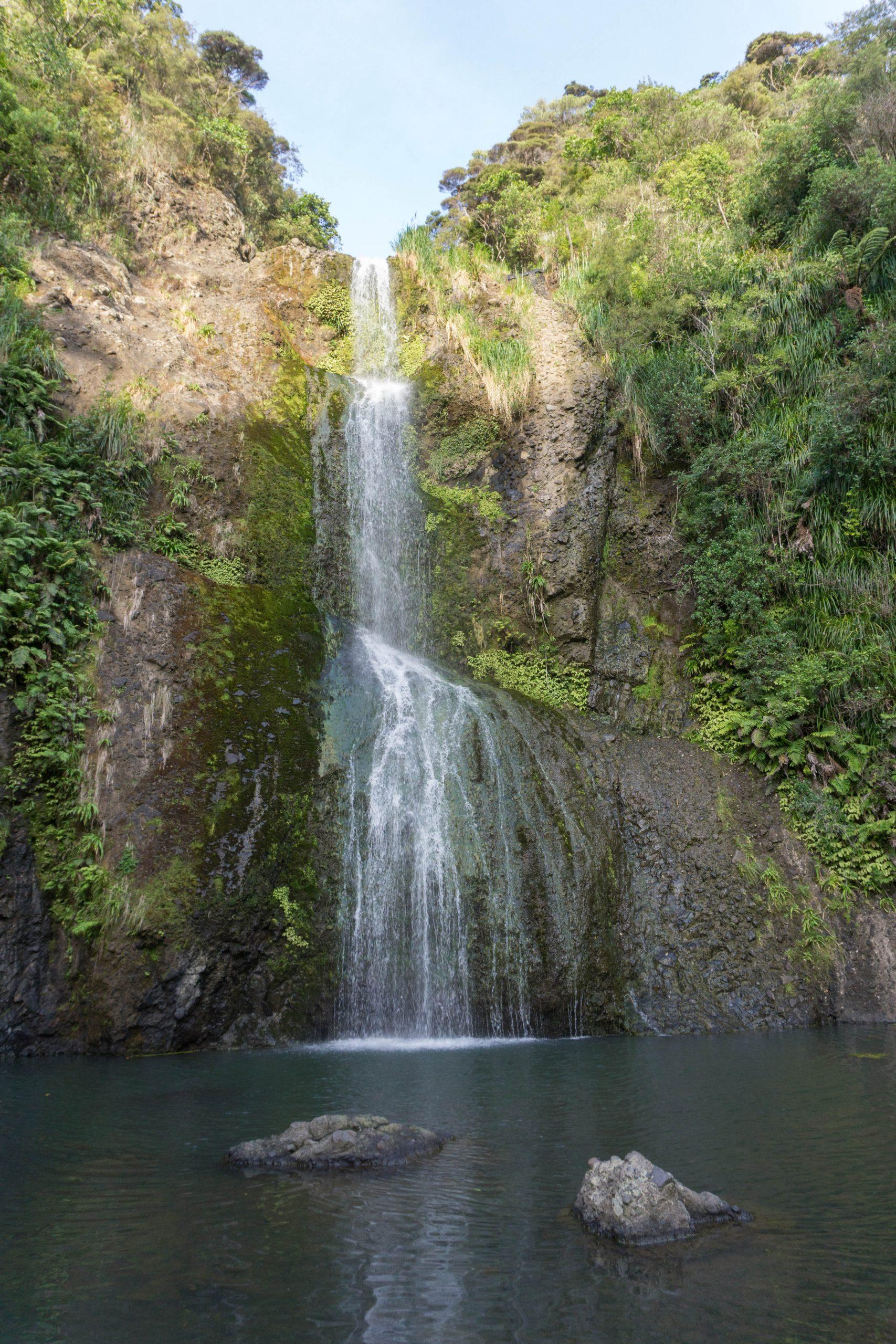 Kitekite Falls Piha Beach