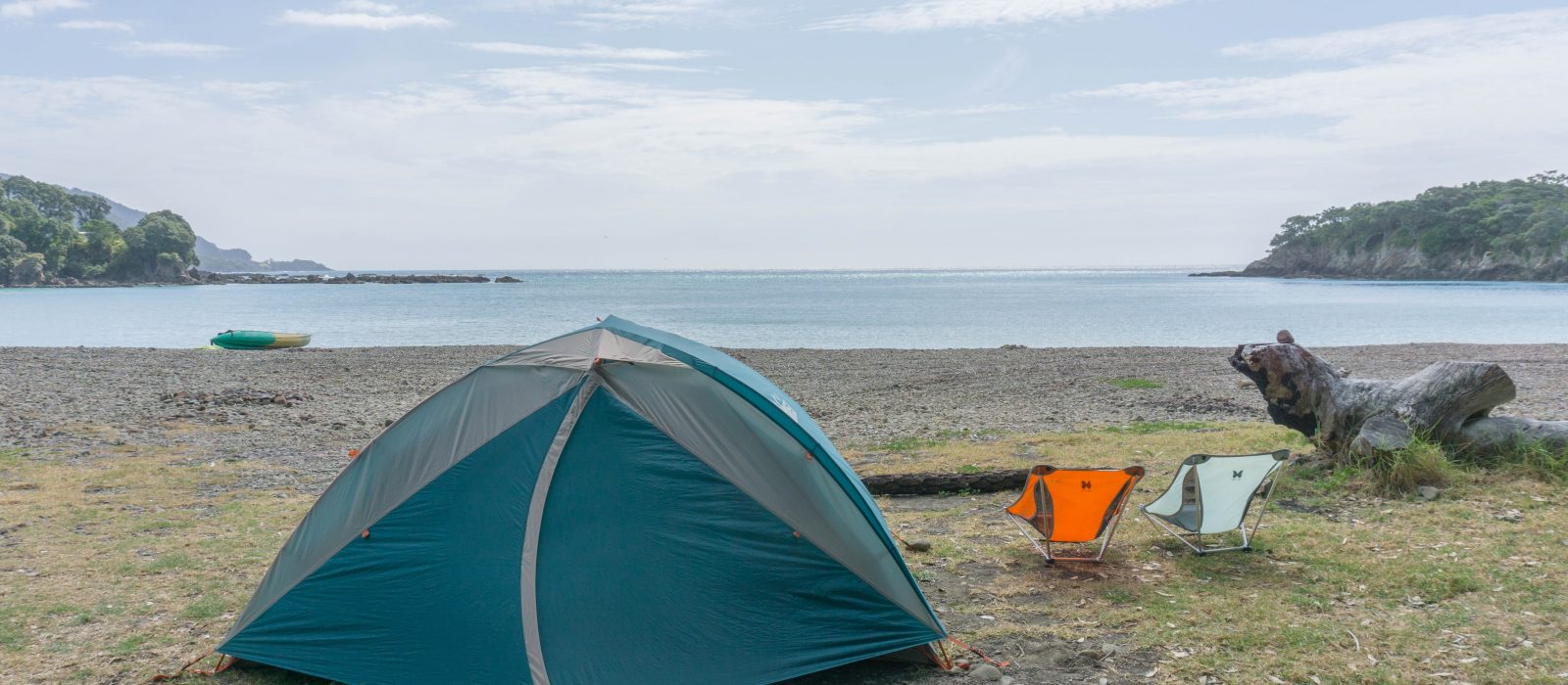 A Back-to-Basics Hideaway by the Sea: Maraehako Campground