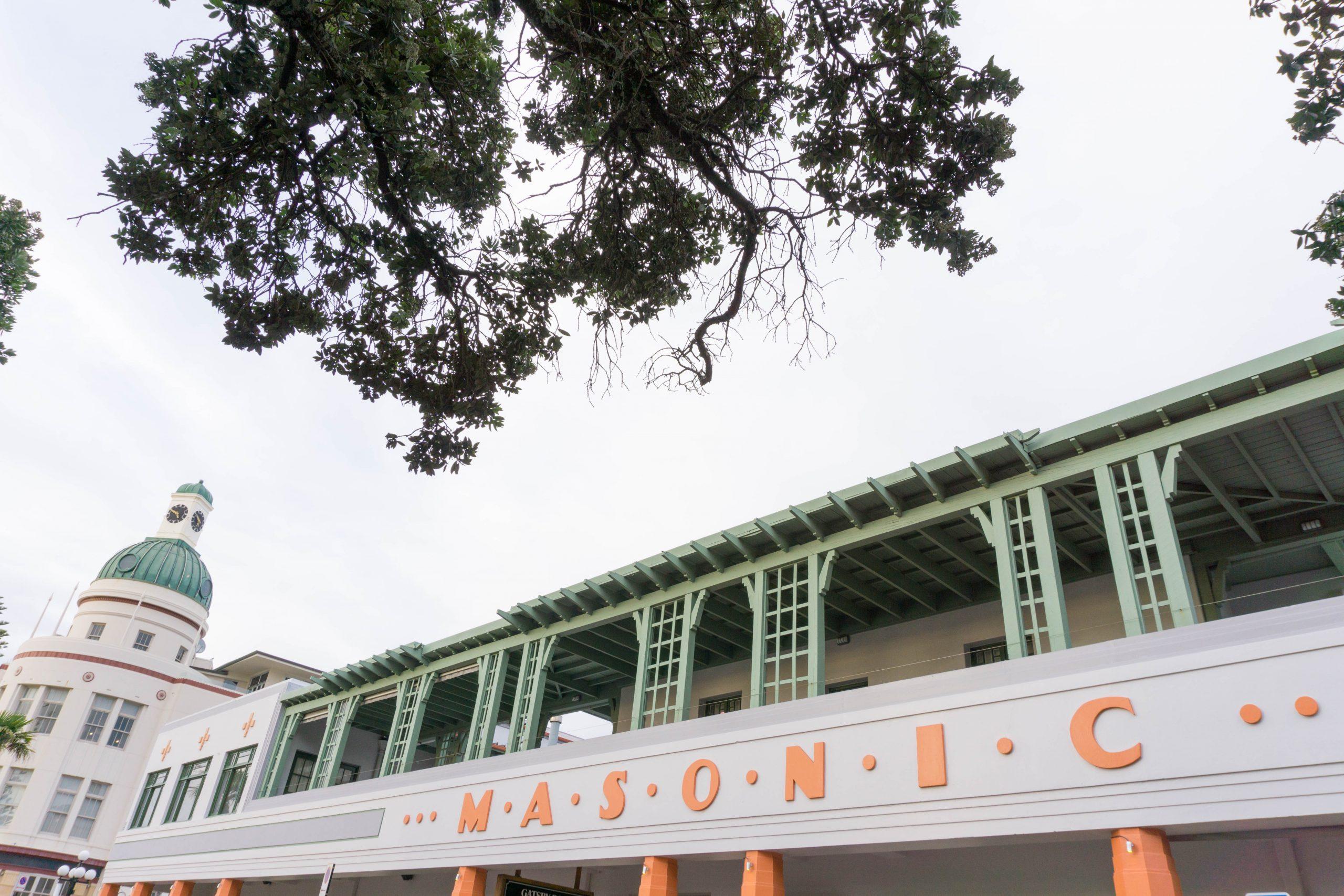 Napier Masonic building