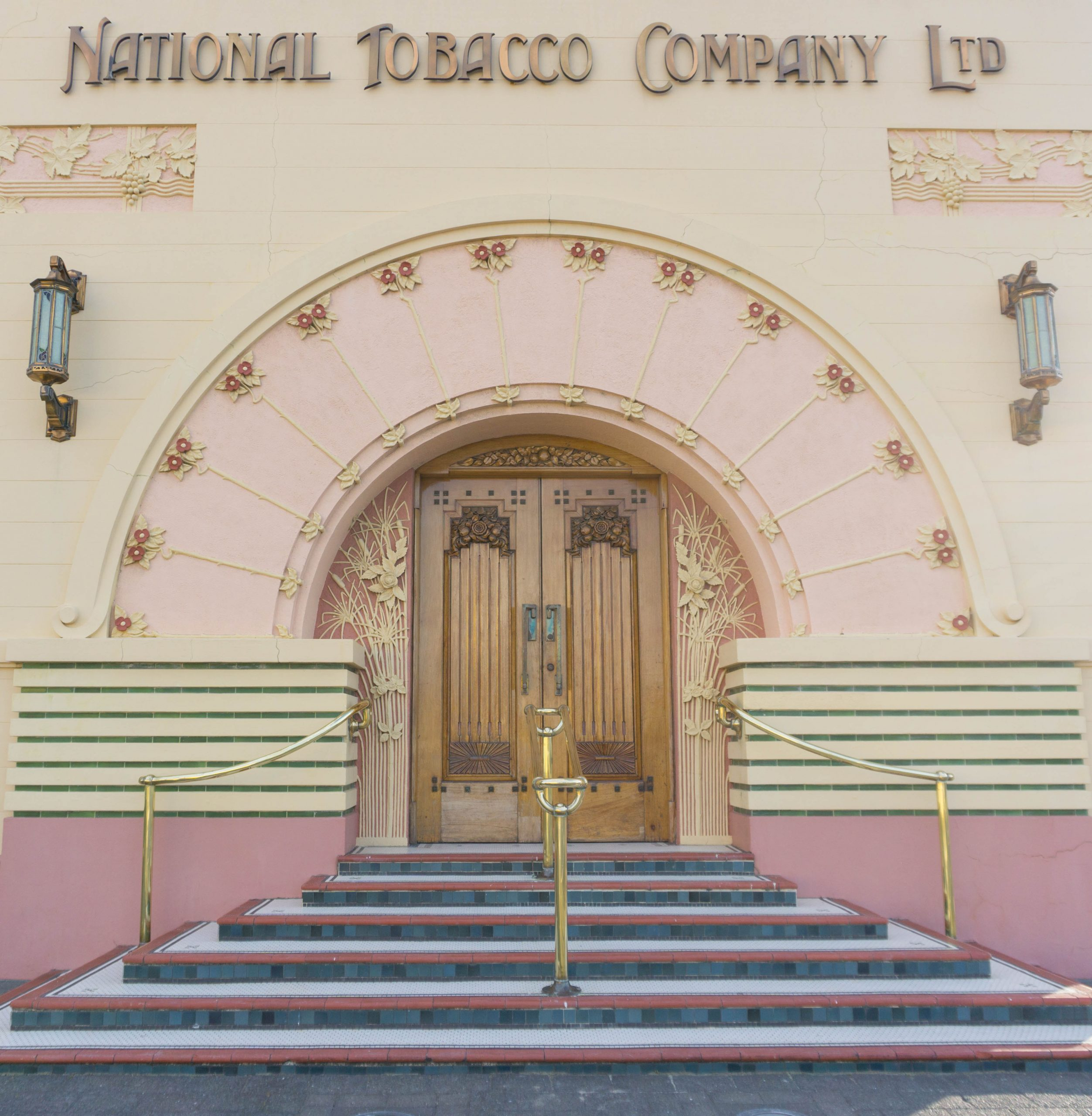 Things to do in Napier - Art Deco National Tobacco Co Building