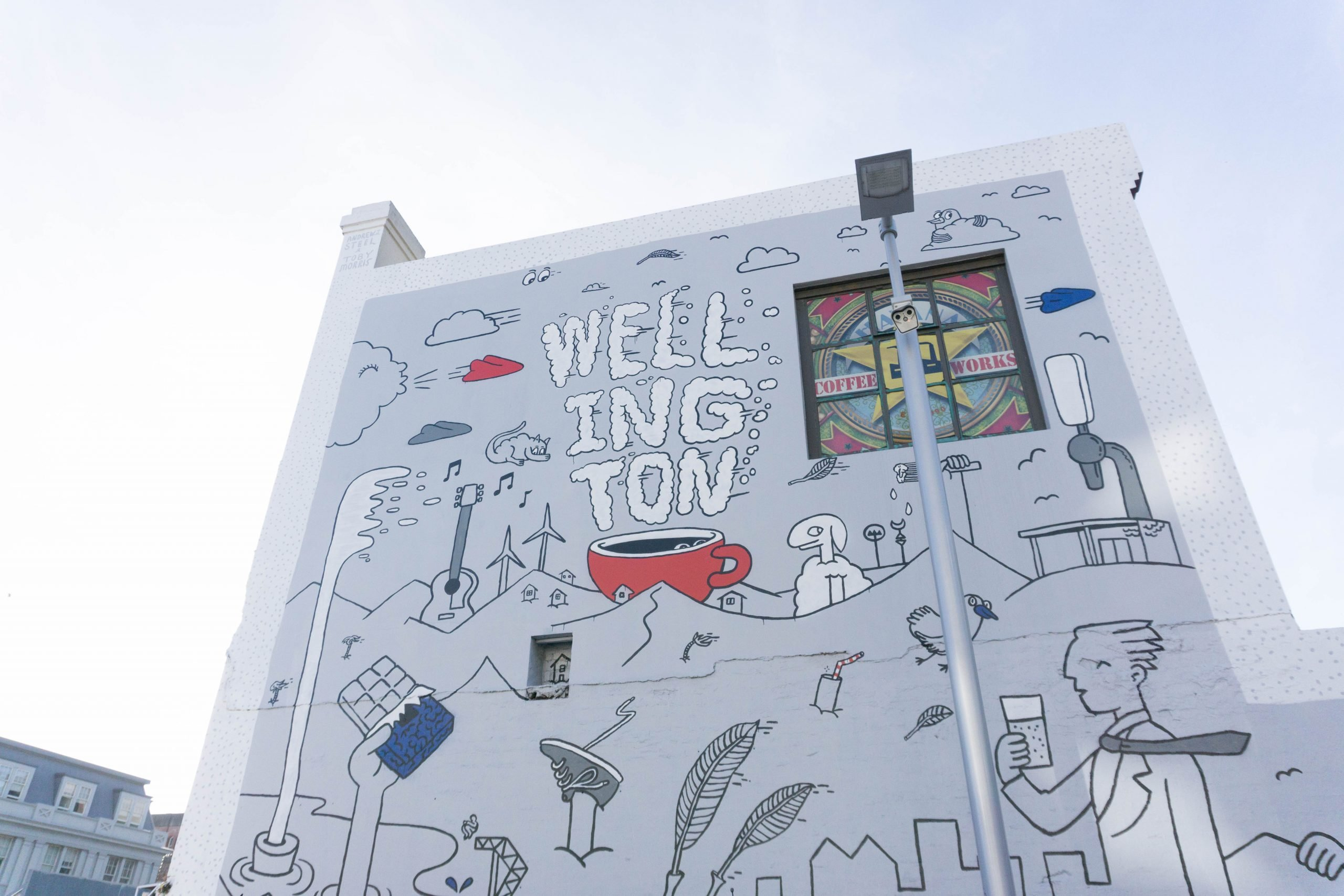 Wellington Mural
