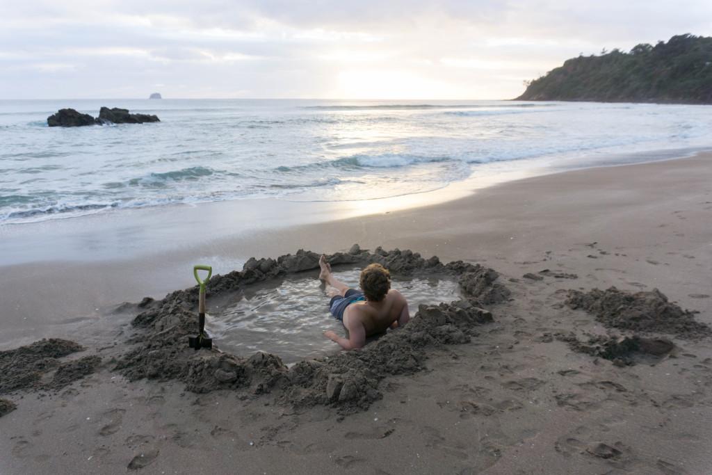 Hot Water Beach Sunrise